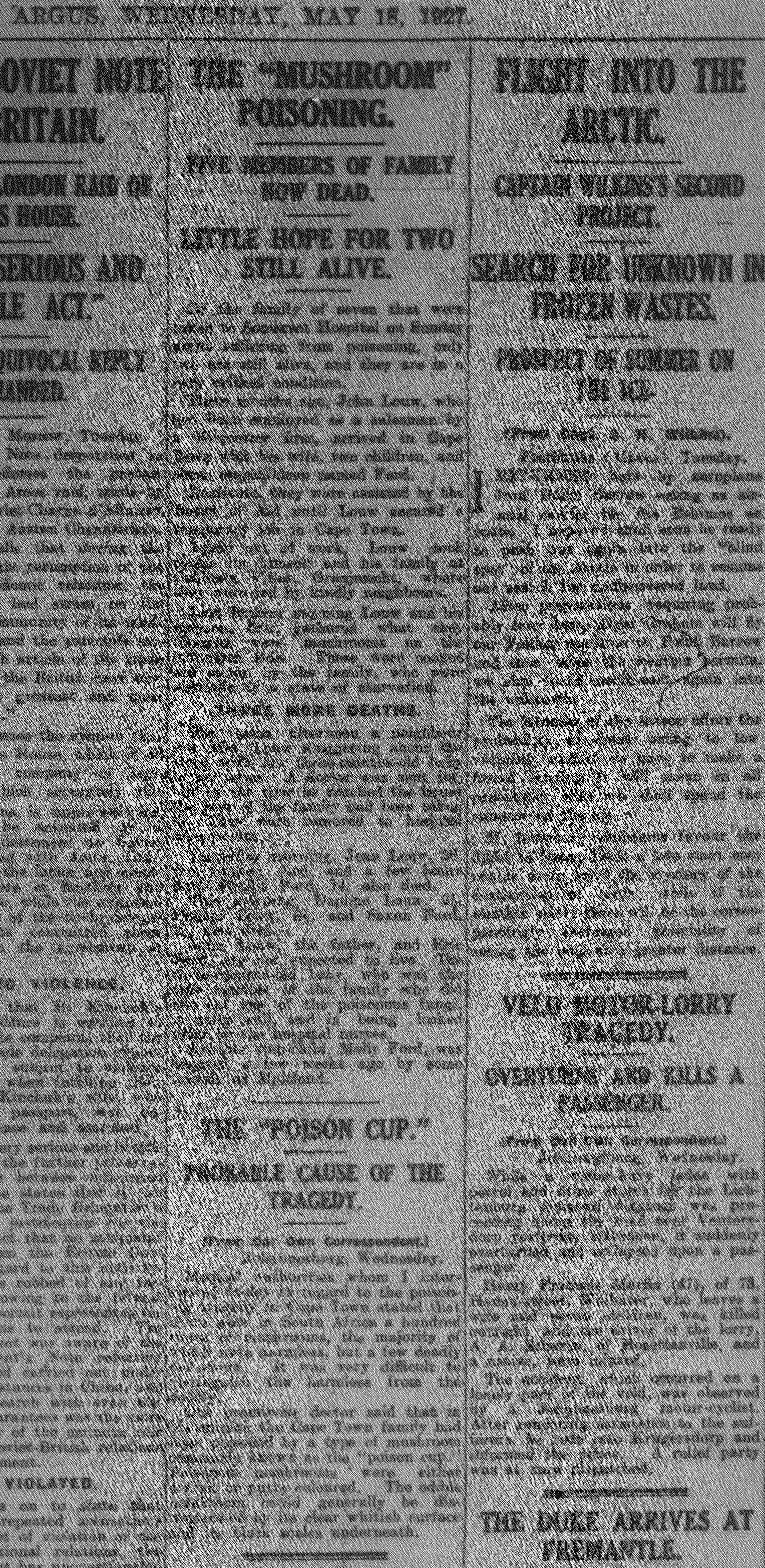 18 May 1927 _