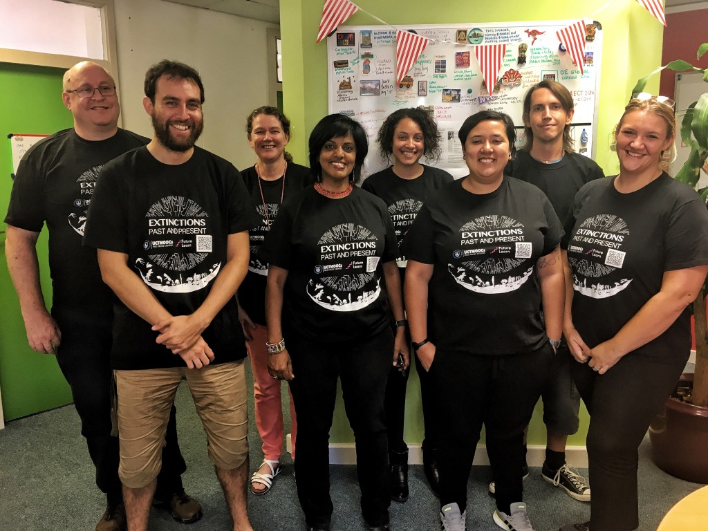 MOOC production team: Been there, done that and got the t-shirt!