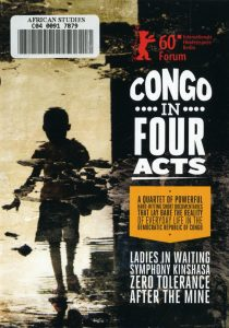DVD cover of Congo in Four Acts, which is available in the African Studies Film Collection.