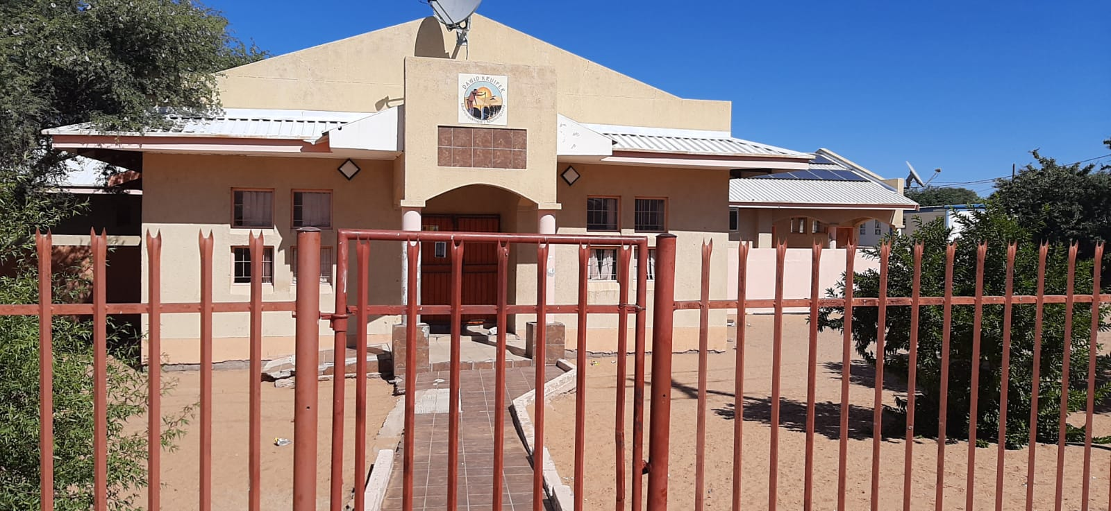 A copy of the statement was placed at the Dawid Kruiper Community Hall